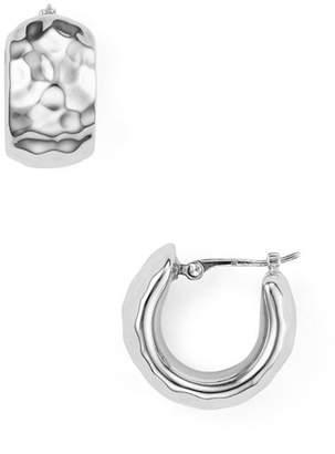 Bloomingdale's Hammered Huggie Hoop Earrings - 100% Exclusive