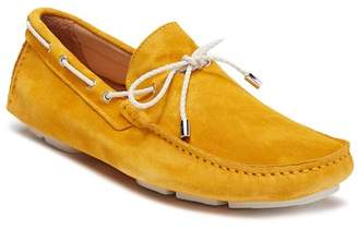 Bugatchi Solid Suede Moccasin