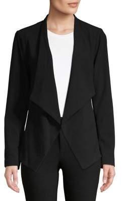 MICHAEL Michael Kors Draped Open-Front Blazer