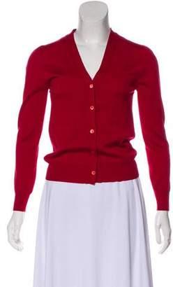 Miu Miu Belted Knit Cardigan