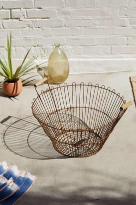 Urban Renewal Vintage Metal Wire Basket