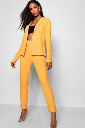 boohoo Tall Crepe Suit