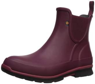 Bogs Women's Amanda Slip ON Solid Rain Boot