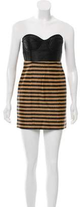 Opening Ceremony Woven Mini Dress