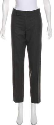 Ralph Lauren Black Label Mid-Rise Wool Pants
