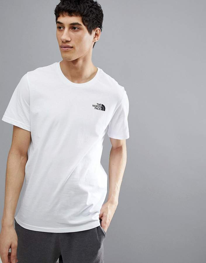 – Simple Dome – T-Shirt in Weiß