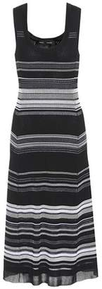 Proenza Schouler Striped cotton-blend knit dress