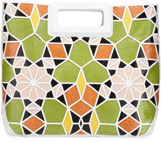 Nancy Gonzalez Dani Crocodile Patchwork Tote Bag