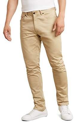 Kenneth Cole New York Men's Slim Five Pocket Sateen Pant