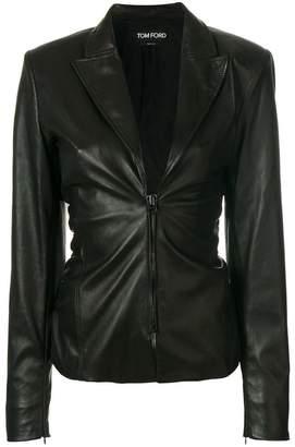 Tom Ford zip front blazer