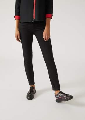 Emporio Armani J23 Super Skinny Jeans In Stretch Denim