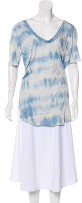 LGB Short Sleeve Tie-Dye Tunic