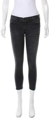 Crippen Low-Rise Cropped Skinny Jeans