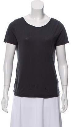 BA&SH Short Sleeve Draped T-Shirt