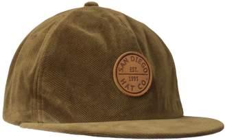San Diego Hat Company San Diego Hat Co. Men's Courduroy Flat Bill Hat