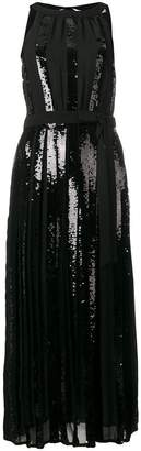 Twin-Set sequin paneled dress