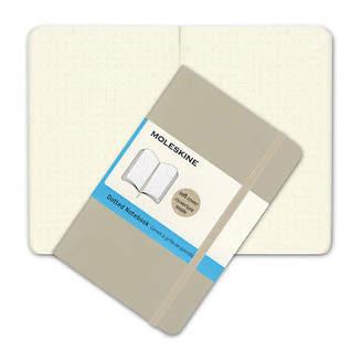 Moleskine NEW Classic Soft Cover Pocket Dotted Notebook Khaki