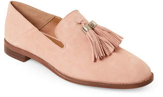 2c36a313d8a Franco Sarto Peach Hadden Tasseled Suede Loafers