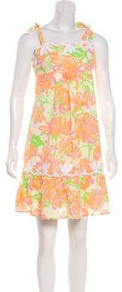 Lilly Pulitzer Linen Floral Dress