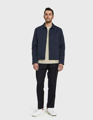 YMC Groundhogs Jacket in Navy