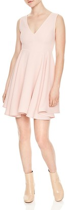 Sandro Paris Fit-and-Flare Dress $325 thestylecure.com