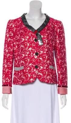 Marc Jacobs Embellished V-Neck Jacket