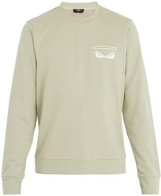 Fendi Bag Bugs-print sweatshirt