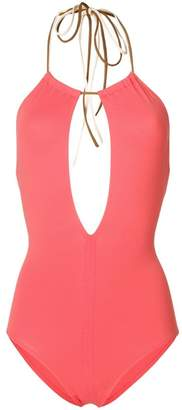 Eres halter neck swimsuit