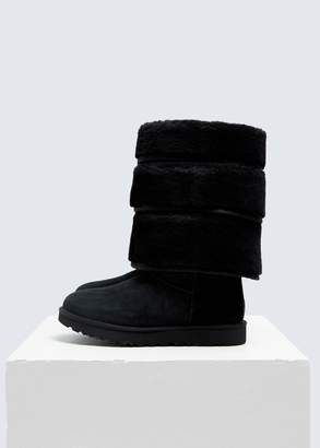 Y/Project UGG Sheepskin Layered Boots