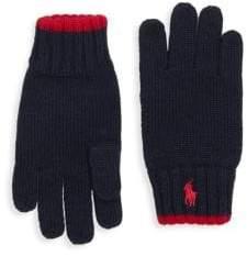 Ralph Lauren Boy's Merino Wool Gloves
