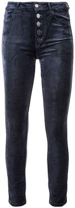 Paige cropped slim fit jeans
