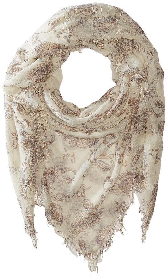 Chan LuuChan Luu Paisley Printed Cashmere Scarf