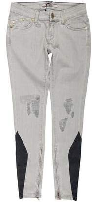 Victoria Beckham Low-Rise Skinny Jeans w/ Tags