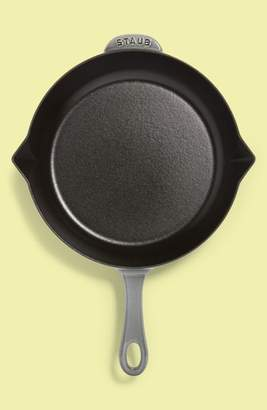 Staub Graphite Grey 10-Inch Enameled Cast Iron Fry Pan