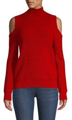 Rebecca Minkoff Marcy Cold Shoulder Sweater