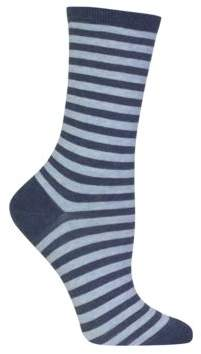 Hot Sox Holiday Striped Socks