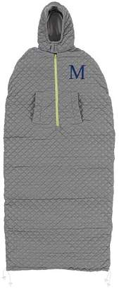 Pottery Barn Teen Quilted Solid Wearable Sleeping Bag, Charcoal