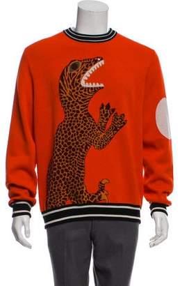 Paul Smith Dinosaur Wool Sweater