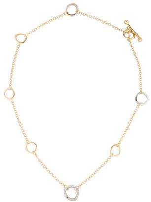 Roberto Coin Two-Tone Diamond Necklace