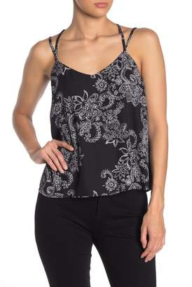 19 Cooper Lace Racerback Patterned Cami