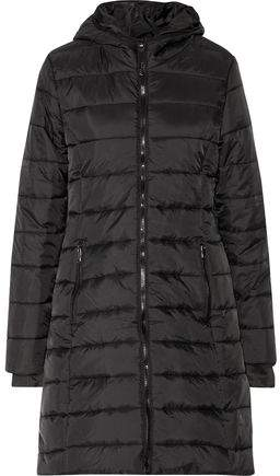 Purity Active Quilted Shell Hooded Coat