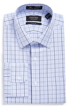 Men's Big & Tall Nordstrom Men's Shop Smartcare(TM) Classic Fit Plaid Dress Shirt $69.50 thestylecure.com