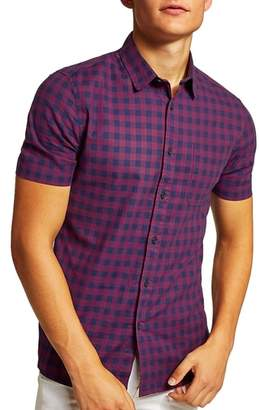 Topman Gingham Shirt