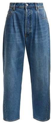 Acne Studios Wide Leg Jeans - Womens - Blue