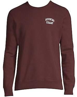 002f5e0a82d0 Reigning Champ Men s Ivy Terry Crewneck Sweatshirt