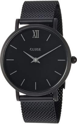 Cluse Women's Minuit 33mm Steel Bracelet Metal Case Quartz Watch CL30011