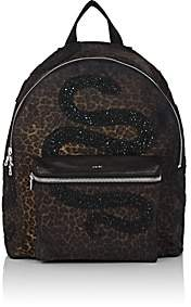 Amiri Men's Canvas Backpack-Brown