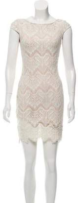 Nicholas Lace Mini Dress