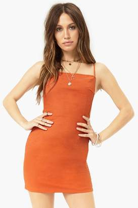 Forever 21 Tie-Back Mini Dress
