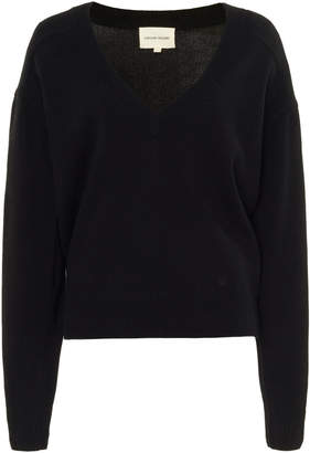 Loulou Studio Piana V-Neck Cashmere Sweater
